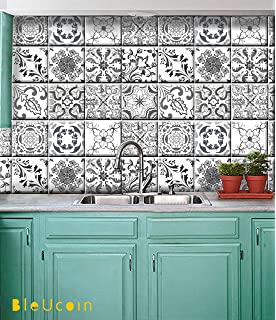 Grey Portugal Kitchen And Bathroom Backsplash Tile Stickers Stair Riser Stickers Peel Stick