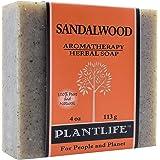 PLANTLIFE Sandalwood Soap Bar, 4 OZ