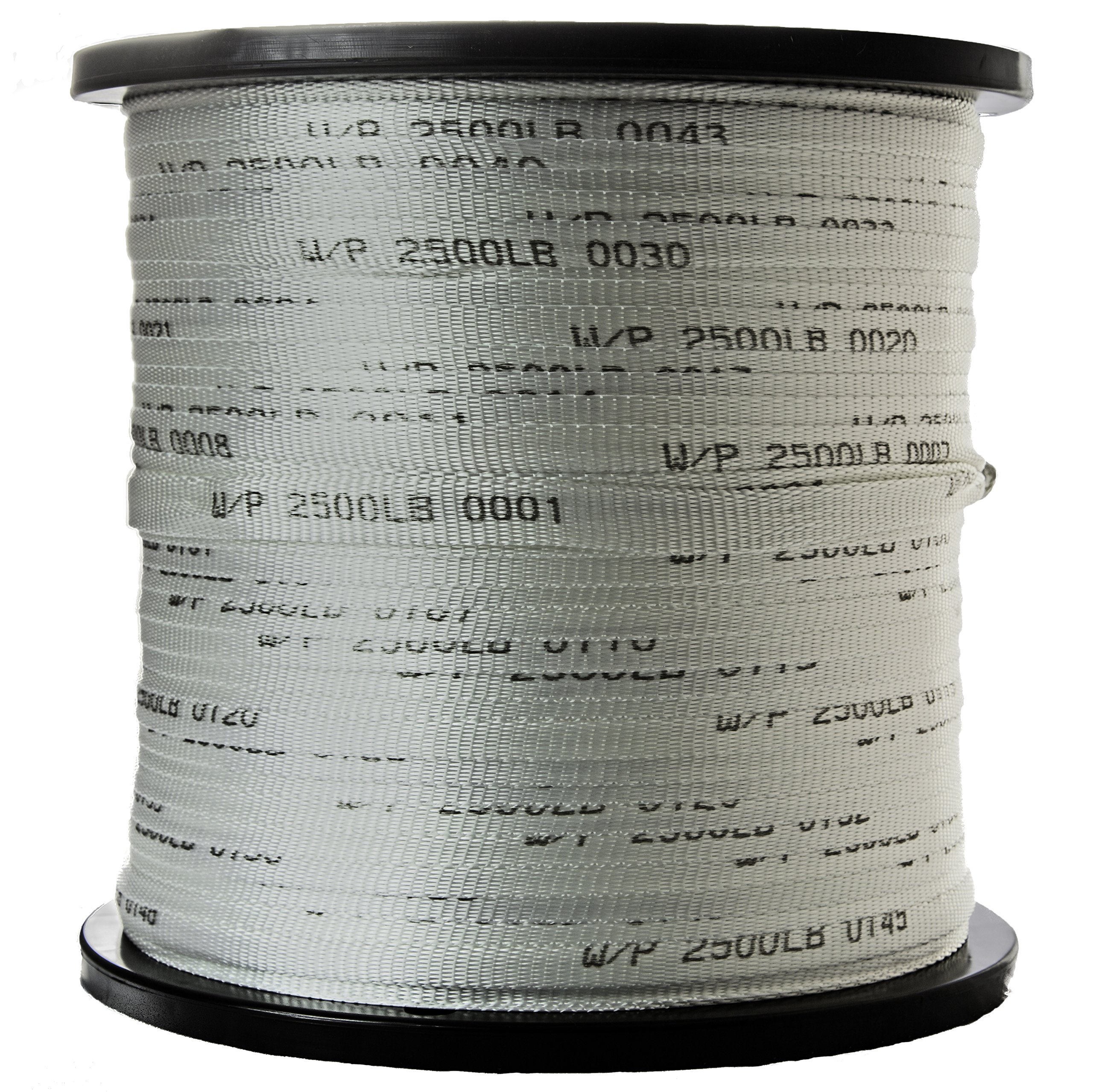 3/4'' x 3000' 2500 Lb Polyester Pull Tape / Pulling Tape - USA Made (500', 1000', 3000', & 5000' Options) by The Ribbon Factory