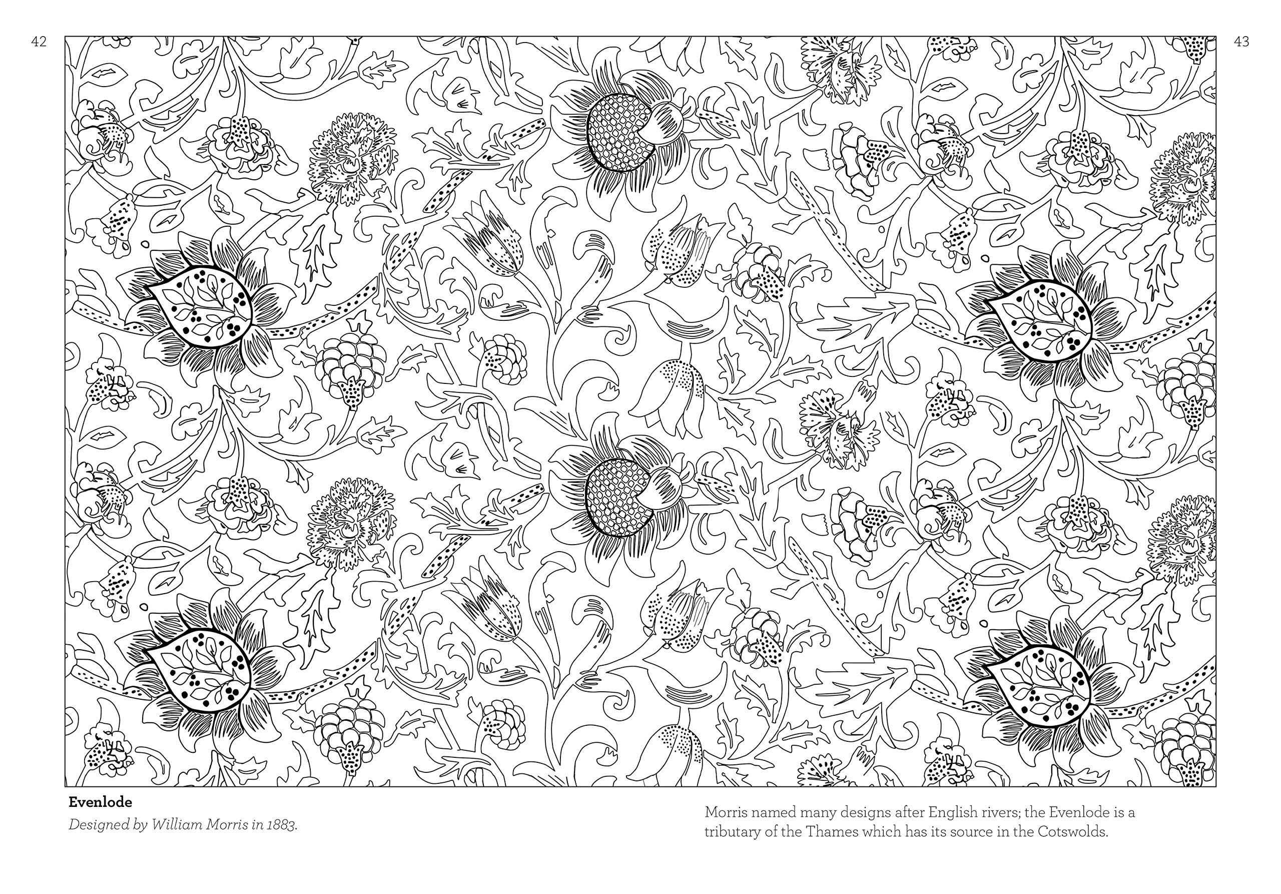 The william morris colouring book william morris 9781786330437 the william morris colouring book william morris 9781786330437 amazon books fandeluxe Images