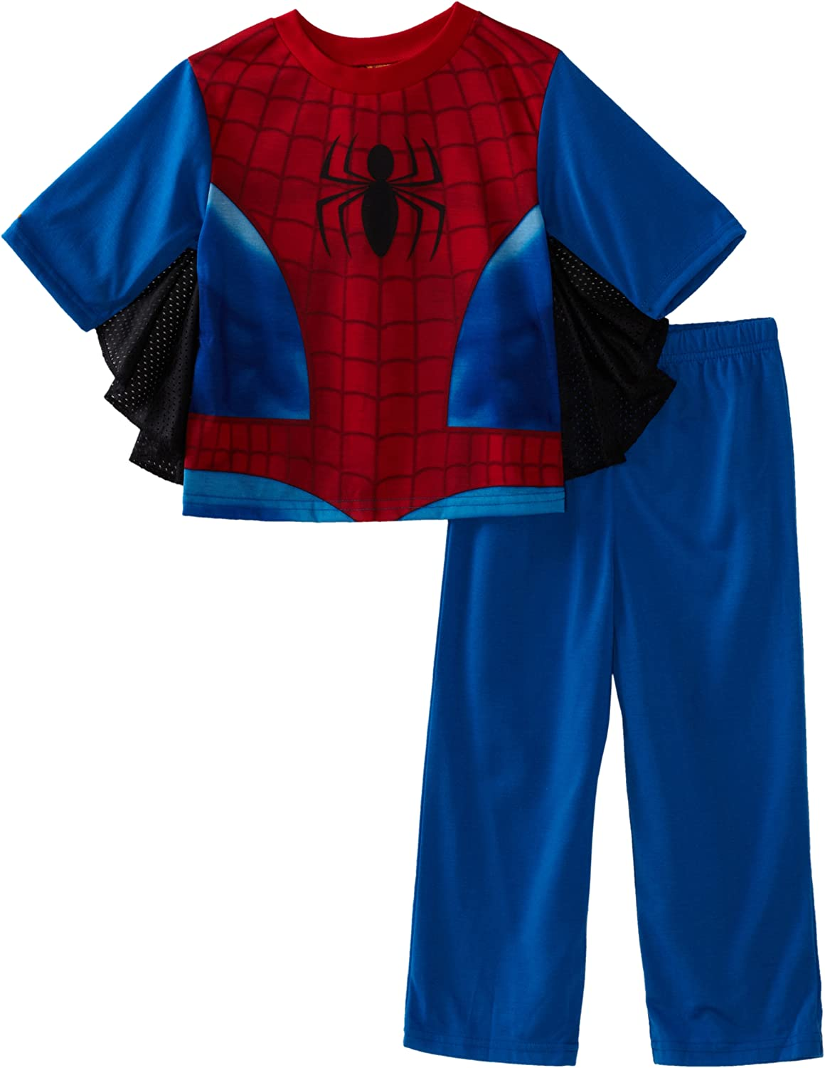 Marvel Spiderman Little /& Big Boys 2 Piece Top /& Shorts Pajama Sleepwear Set