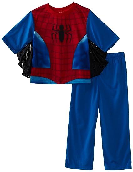 6fd30ca4f4bc Amazon.com  AME Sleepwear Little Boys  Spider-Man Uniform 2 Piece ...