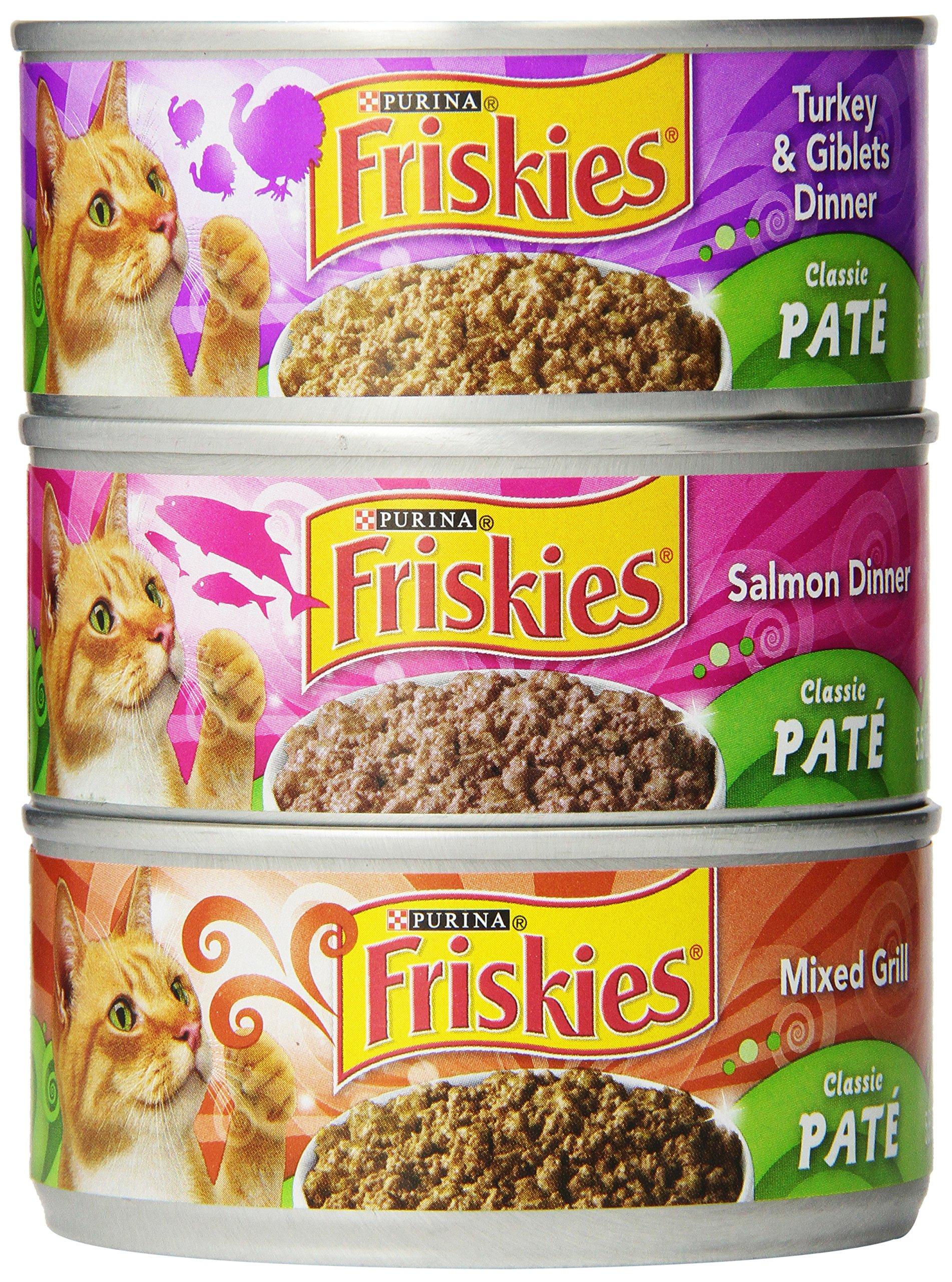 Purina Friskies Classic Pate Variety Pack Cat Food - (24) 9.4 lb. Box