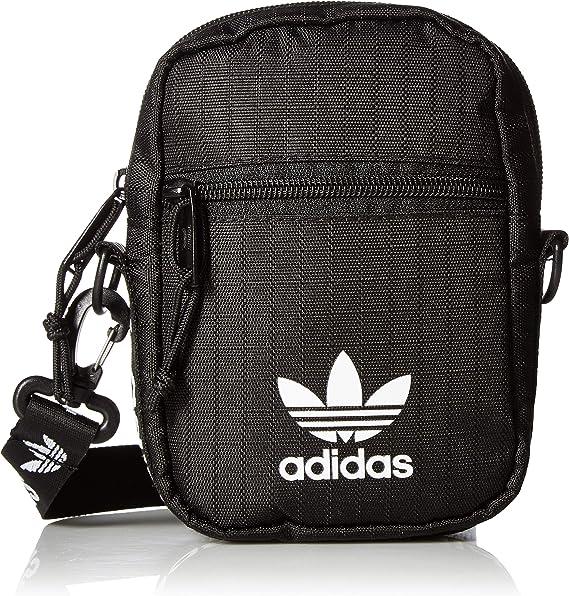 ADIDAS MESSENGER BAG BLACK//WHITE