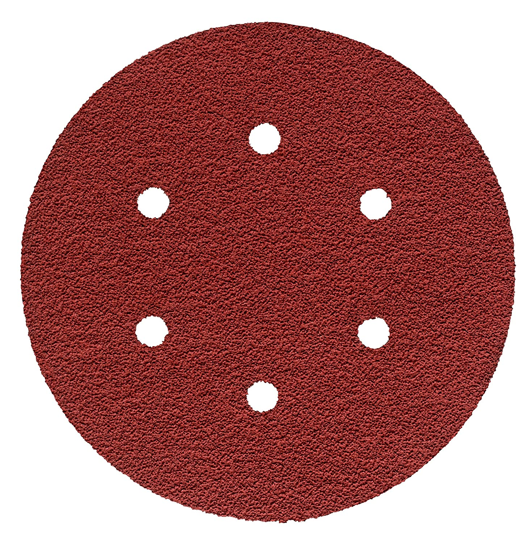 3M Cubitron II Hookit Cloth Disc 947A, 40+ X-weight, 6 in x NH, D/F 6HL, Die 600HZ