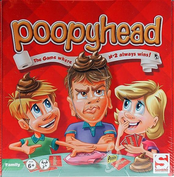 Poopy Cabeza - Perrito Caca Novedad Divertido Infantil Juego De Mesa: Amazon.es: Juguetes y juegos
