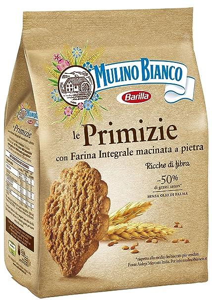 Mulino Bianco Biscotti Integrali Primizie con Farina Integrale , 700 gr  Amazon.it Amazon Pantry