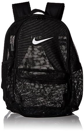 Nike Nk Brsla Mesh Bkpk Mochila, Unisex adultos, Negro (Black/Black/White): Amazon.es: Deportes y aire libre