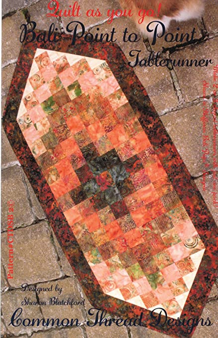 Amazon Bali Point To Point Table Runner Pattern Strip Quilt As