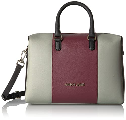 Amazon Armani Jeans Saffiano co Boston Bag Taupeburgundynero Eco TqPRqYw8
