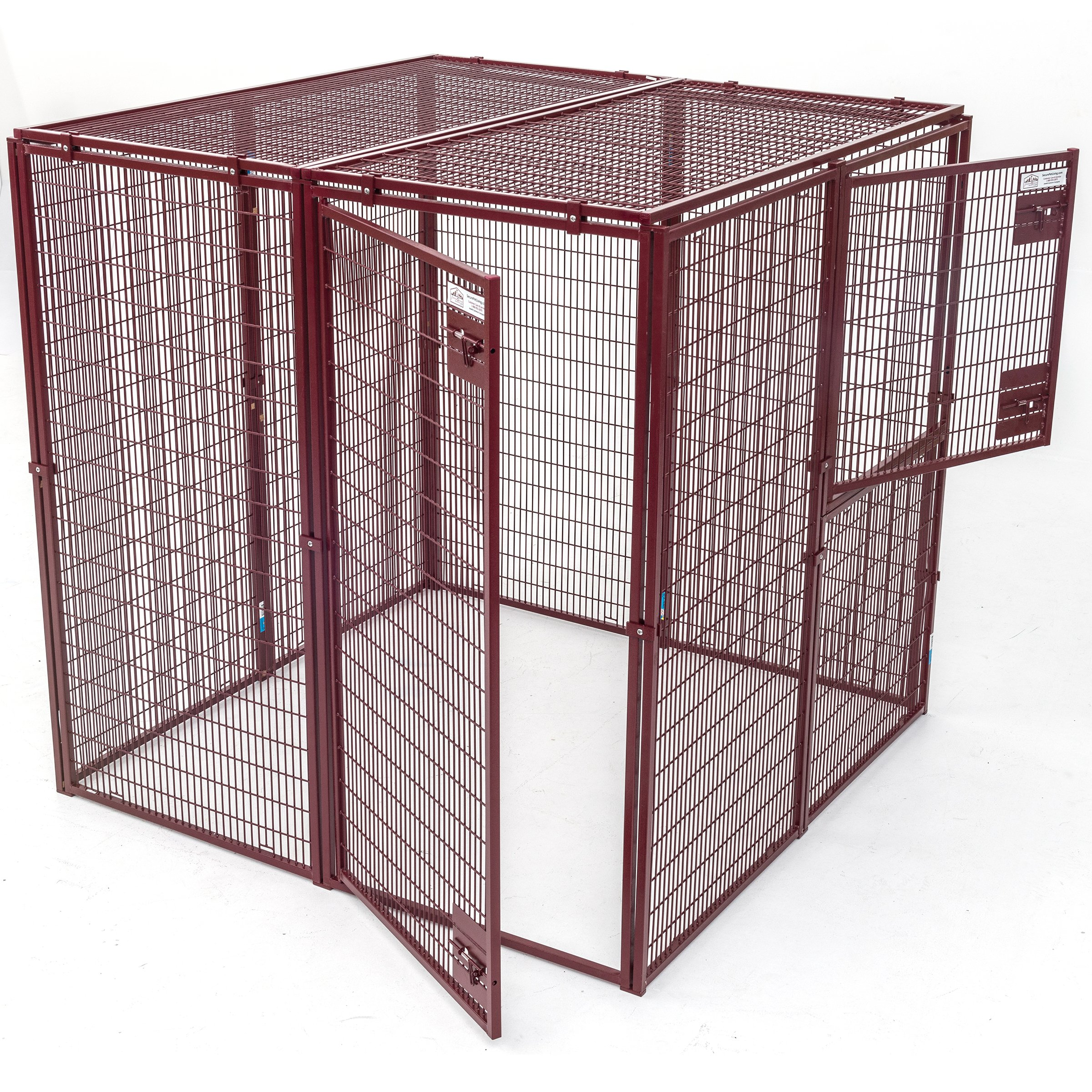 Animal House Thick Wire Gauge Ultra Heavy Duty Enclosure (5' Hx5'Lx5'W) 221.8 lbs