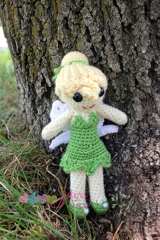 Fairy doll crochet pattern - Amigurumi Today | 1500x1000