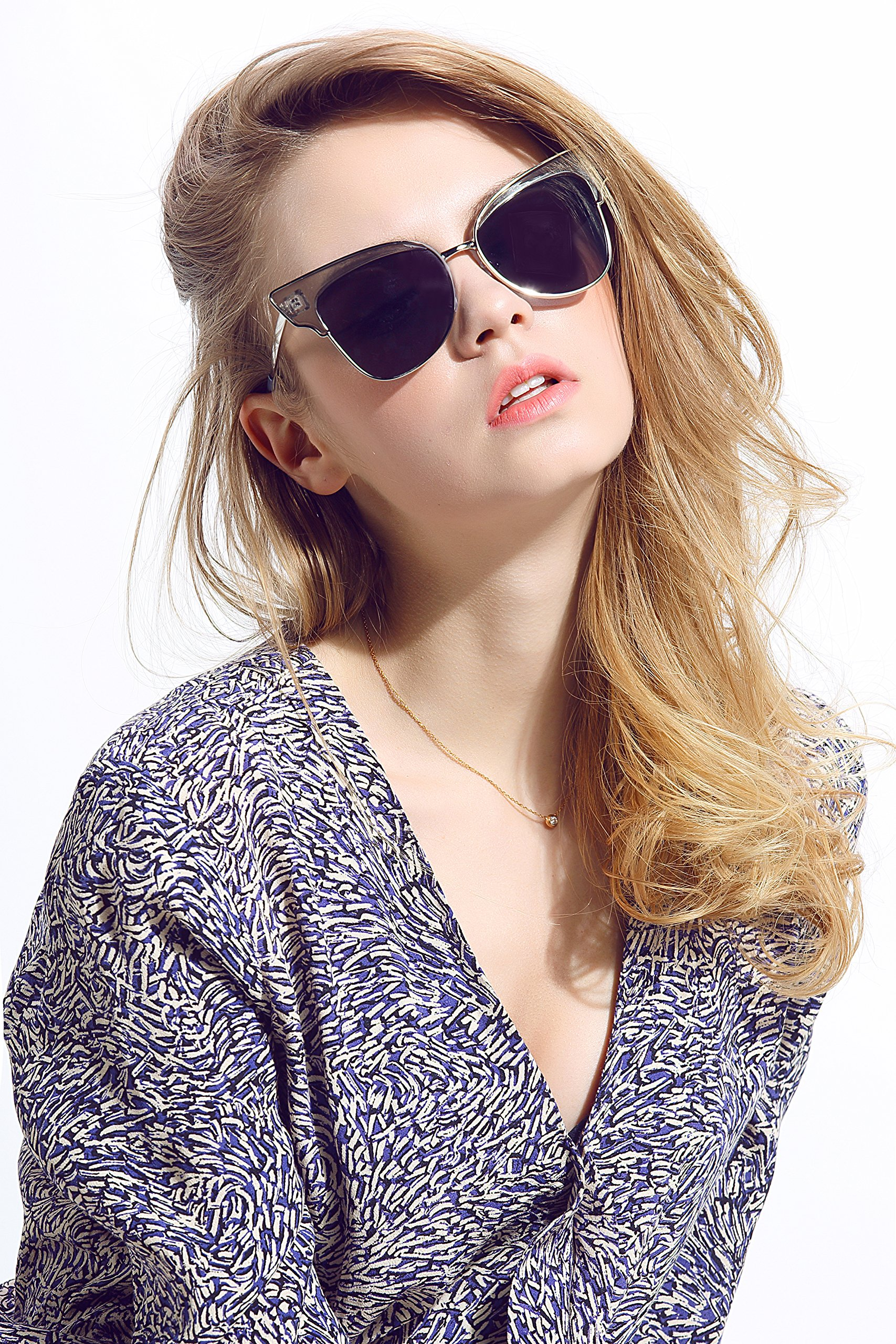Diamond Candy Women's Fashion Sunglasses UV Protection Sexy Eyewear UV400 Goggles 5Gray