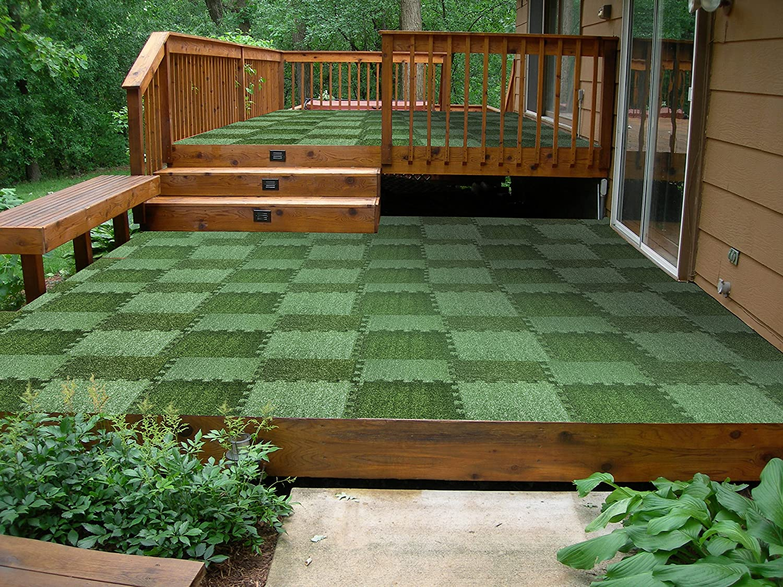above edge interlocking grass deck tiles square artificial grass