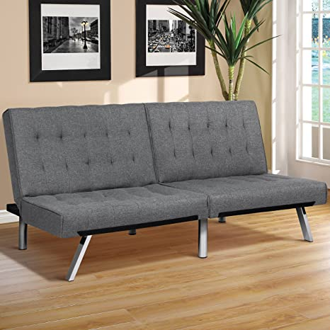 Amazon.com: Best Choice Products - Sofá cama plegable y ...