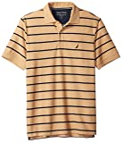 Nautica Men's Classic Short Sleeve Stripe Polo