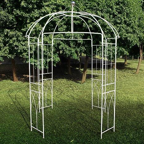 Pergola de metal con forma de jaula de pájaros de 4 lados ...