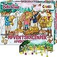 CRAZE Premium BIBI & TINA 24676 adventsleksaker 2020 BI&Tina julkalender B&T för flickor överraskningar av kreativt innehåll, färgglad