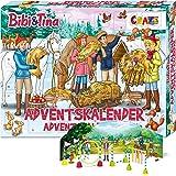 CRAZE Premium BIBI & TINA 24676 adventsleksaker 2020 BI&Tina julkalender B&T för flickor överraskningar av kreativt…