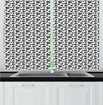 Amazon Com Lunarable Poker Kitchen Curtains Symbols Of Playing