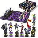 Batman Dark Knight vs The Joker Chess Set