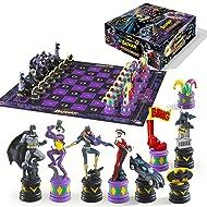 The Batman Chess Set (The Dark Knight vs The Joker)