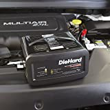 DieHard 71323 12V Shelf Smart Battery Charger and