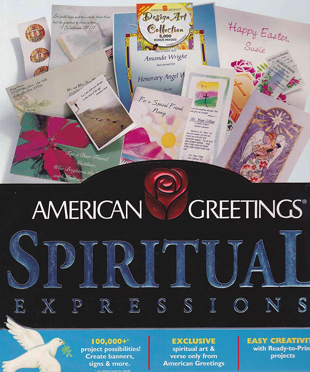 Amazon american greetings spiritual expressions windows 95 amazon american greetings spiritual expressions windows 95 98 only kristyandbryce Images