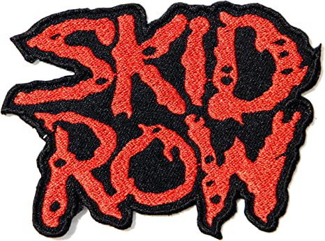 skid Row Logo Punk Rock Heavy Metal Música Banda chaqueta camiseta ...
