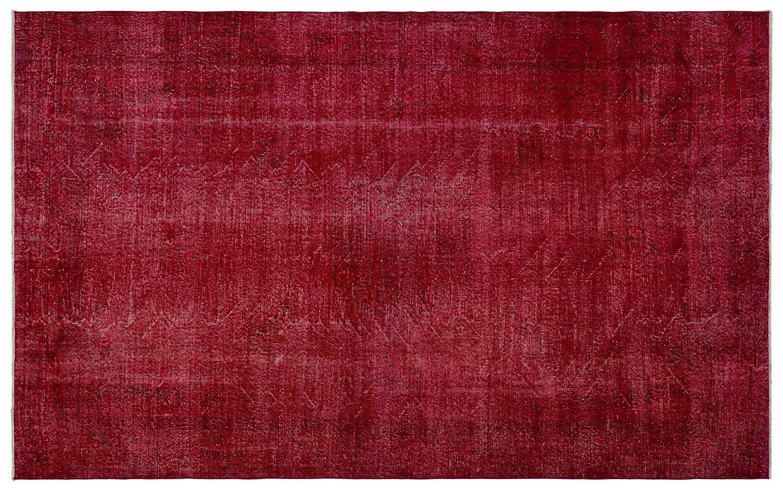 Bespoky ビンテージ 手織 ラグ 赤 大きいサイズ 198 X 318 Cm B07HN7FYS7