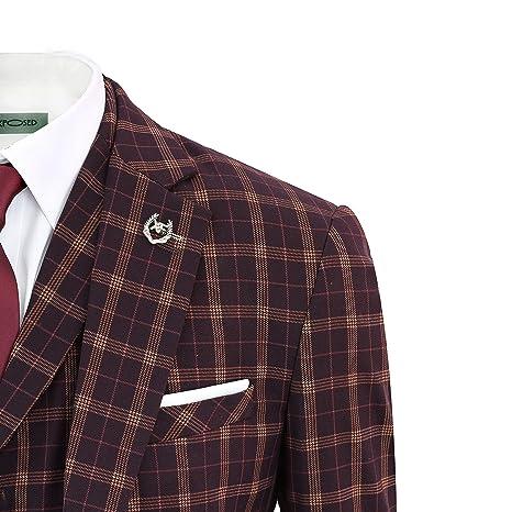 Amazon.com: Xposed para hombre vintage Príncipe de Gales ...