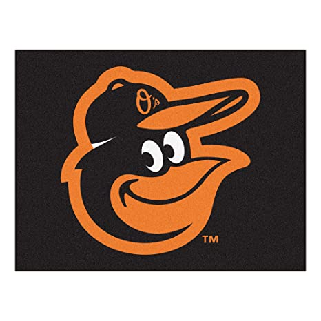 2f0d709cd67 Amazon.com  Fanmats MLB Baltimore Orioles Cartoon Bird All-Star Mat ...