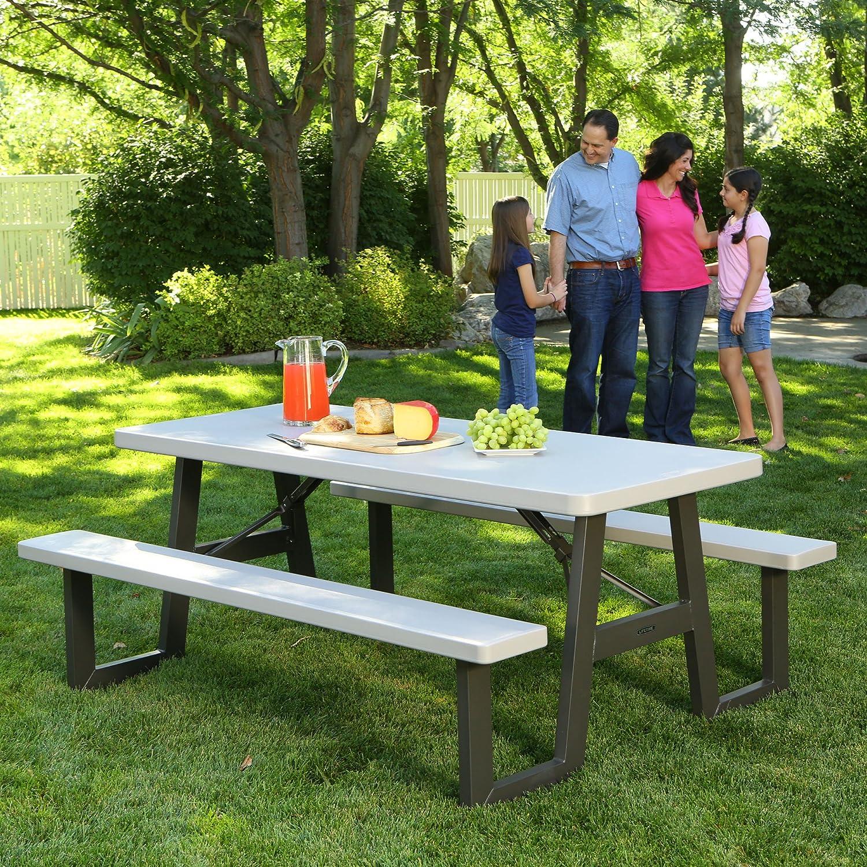 Amazon Lifetime W Frame Folding Picnic Table 6 Feet