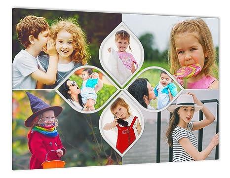 828d32437c Personalizzabile con foto collage stampa su tela. Da personalizzare con  foto.