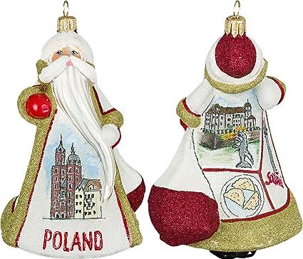 Amazon Com Poland Santa In Krakow Polish Glass Glitterazzi