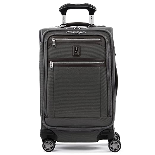 """The Travelpro Platinum Elite 21"""" Expandable Carry-on Spinner Suiter travel product recommended by Madeleine Quevedo on Lifney."""