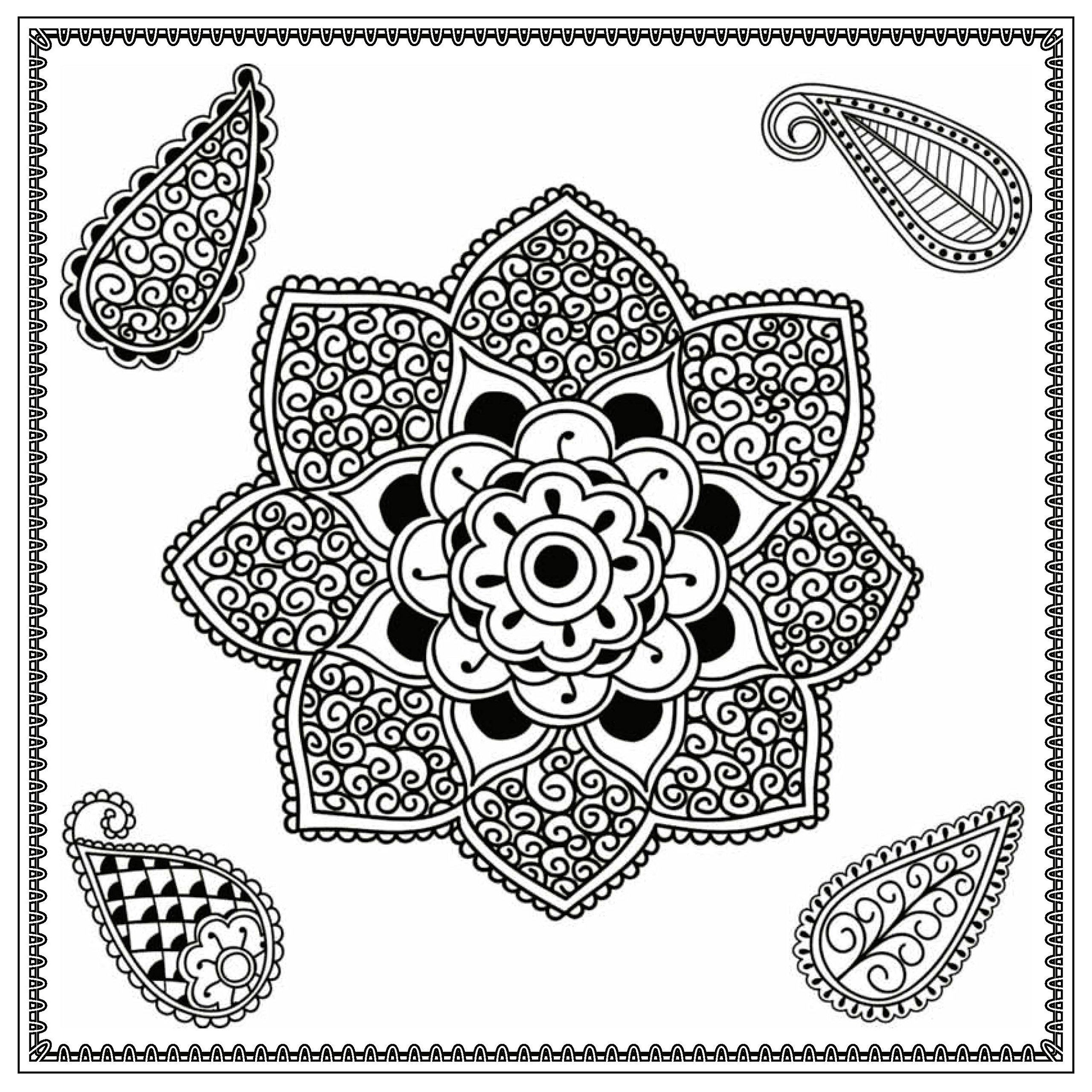 Mandala Magic Amazing Mandalas Coloring Book For Adults Color ArsEdition 9781438006383 Amazon Books