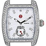 MICHELE Women's MW02A01A2942 Urban Mini Analog Display Swiss Quartz Silver Watch Head