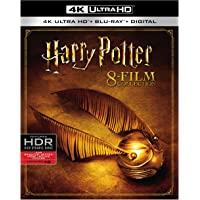 Harry Potter 8-Film Collection on 4K Ultra HD Blu-ray / Blu-ray / Digital HD
