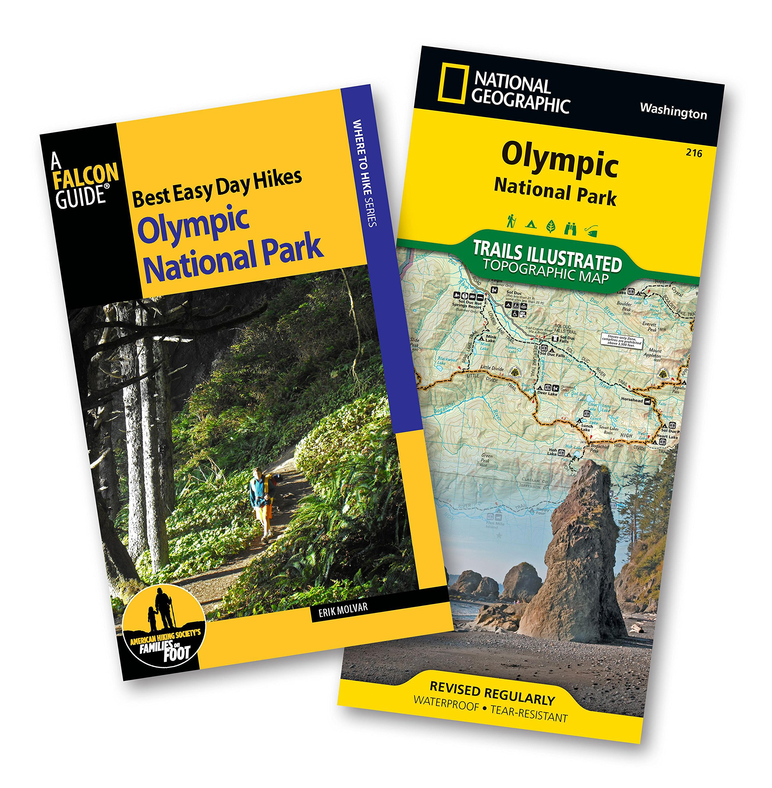 Best Easy Day Hiking Guide and Trail Map Bundle: Olympic National Park (Best Easy Day Hikes Series) PDF