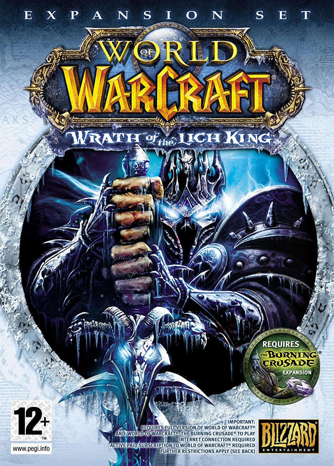 world of warcraft wrath of the lich king completo