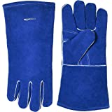 AmazonBasics Welding Gloves, Blue, 2-Pack