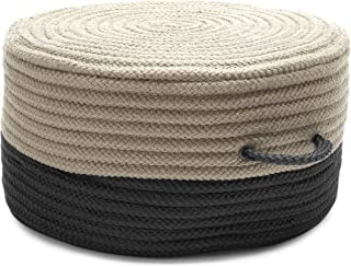 product image for Colonial Mills Two-Tone Pouf ON01 Ottoman