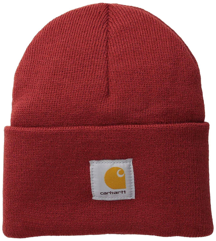 Carhartt HAT メンズ A18 B00JE0LLJ6 One Size|Dark Crimson