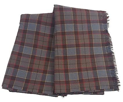 a7b375013c Amazon.com: Outlander Fraser Great Kilt Poly/Viscose Tartan: Clothing