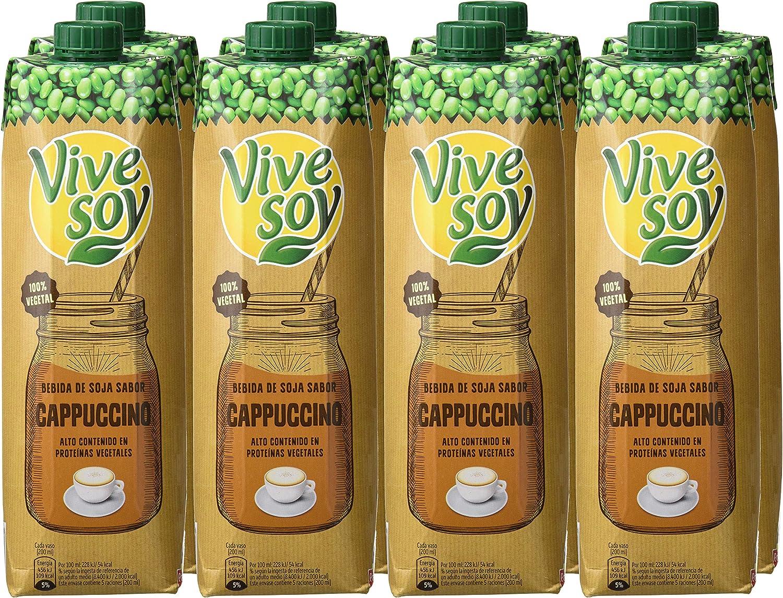 Vivesoy Sabor Cappuccino - Pack 6 x 1 L: Amazon.es: Alimentación y ...