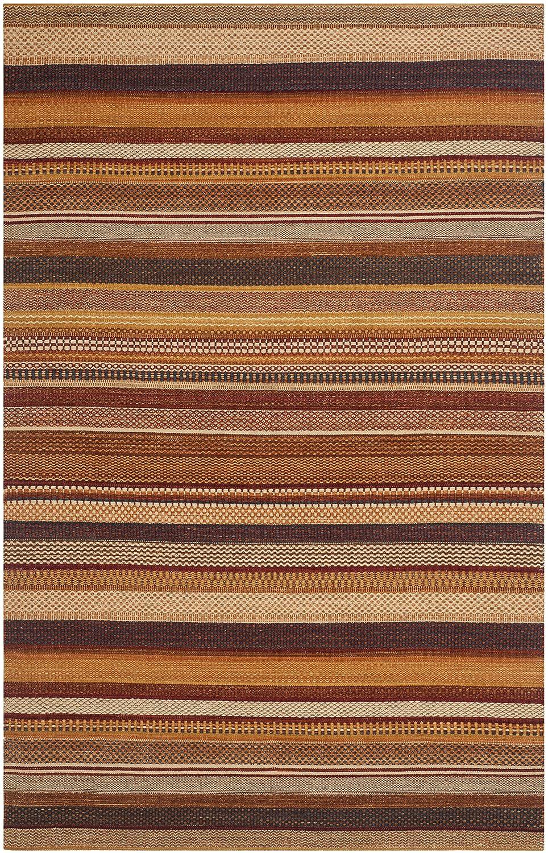 Safavieh Salvatore Handgeknüpft Teppich, Wolle, Rost, 152 x 243 cm