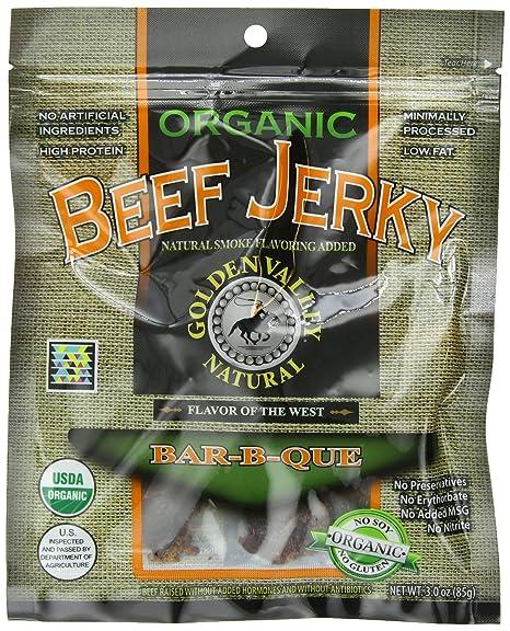 Natural Organic Beef Jerky