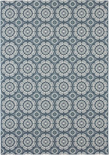 Balta Rugs Whitfield Blue Indoor Outdoor Area Rug, 8 x 10