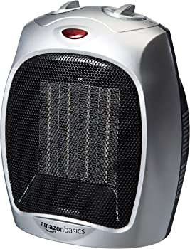 AmazonBasics 1500 Watt Ceramic Space Heater